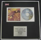 BLUR - CD single Award - BEETLEBUM